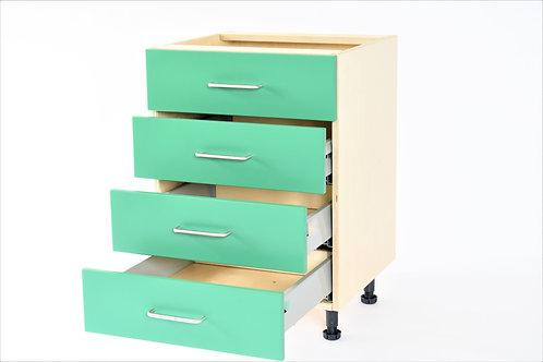 Base Units: 4 drawer (4 x small drawer)