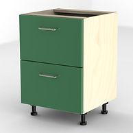 Green filing cabinet