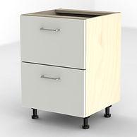 Cream filing cabinet