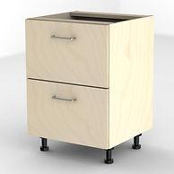 Birch filing cabinet