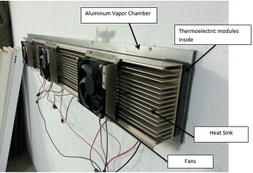 Thermoelectric Vapor Chamber System