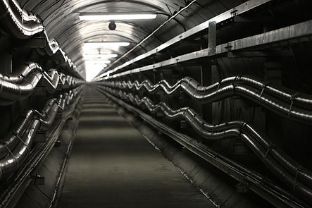高電圧送電トンネル温度制御システム