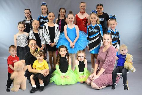 Platinum Dancers friendly group happy costumes cheerleaders