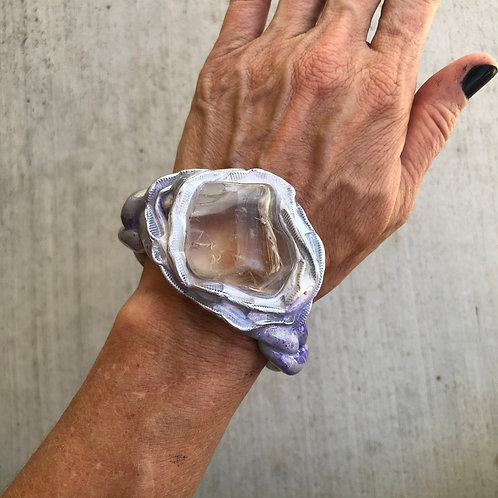 ACHIEVE ~ QUARTZ CUFF BANGLE