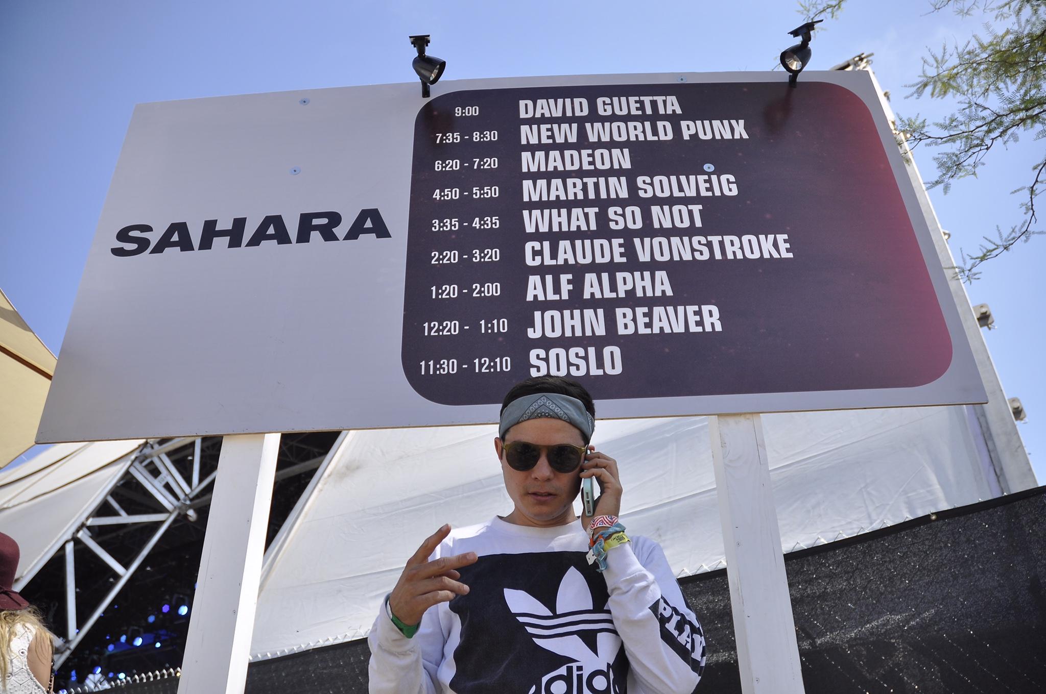 Alf Alpha Coachella Sahara 2015