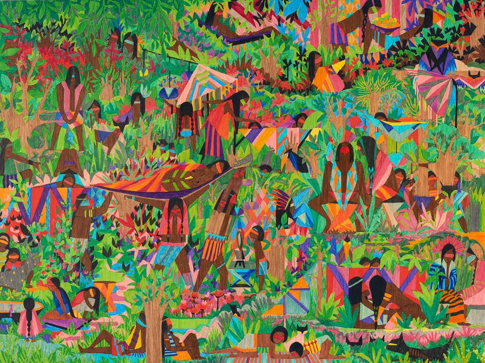 Amazonie // 80 x 60 cm // Vendu