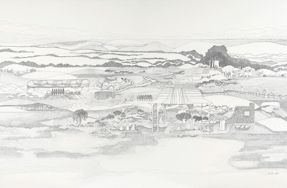 Vézelay - Sixième heure du jour // 120 x 80 cm // Vendu