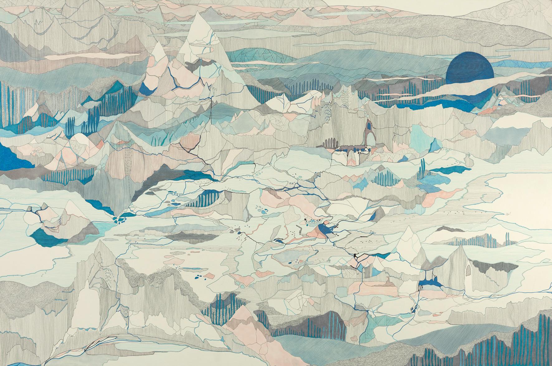 En retour de Uummannaq // 120 x 80 cm