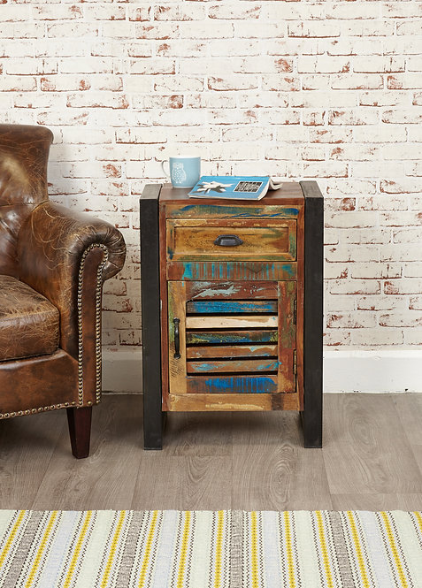 Urban Chic 1 Door 1 Drawer Lamp Table