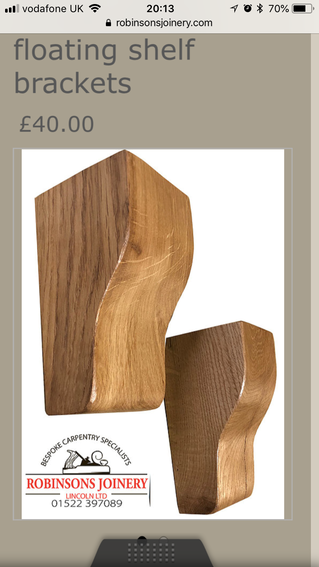 New corbel designs online now. Custom made bespoke oak corbels we can also design any shape and styl