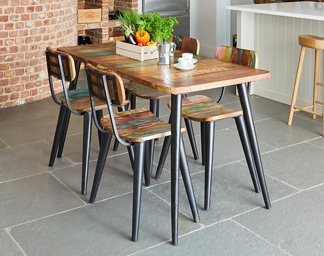 Coastal Chic Small Rectangular Dining Table