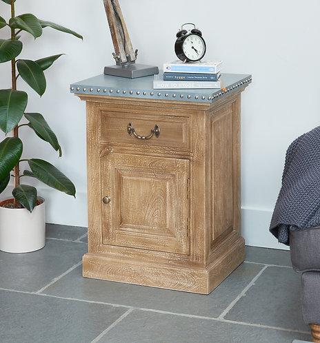 Kuba Lamp Table / Bedside Table