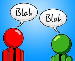 blah-conversation-represents-chit-chat-a