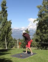 Swin Golf Nax départ trou