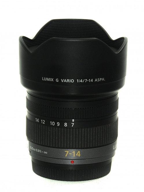 Objectif Lumix 7-14mm OIS f/4