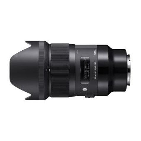 Objectif Sigma Art 35mm f1.4