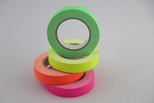 Gaffer de couleurs fluo 25mmx25m