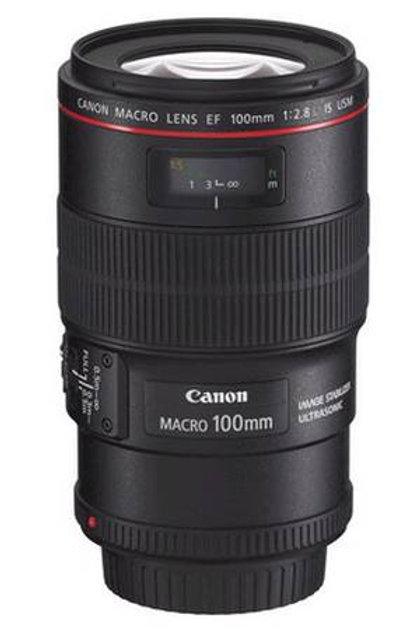 Objectif Canon 100mm Macro USM f/2.8 L