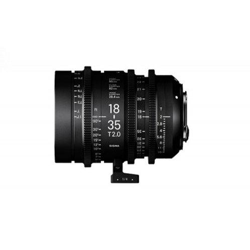 Zoom SIGMA 18-35mm f/2 EF