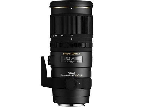 Objectif Sigma 70-200mm f/2.8