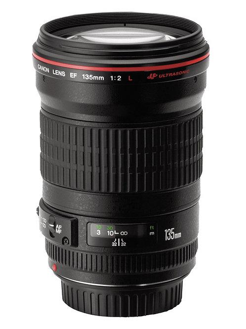 Objectif Canon 135mm USM f/2 L