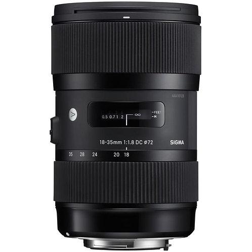 Objectif Sigma Art 18-35mm f/1.8