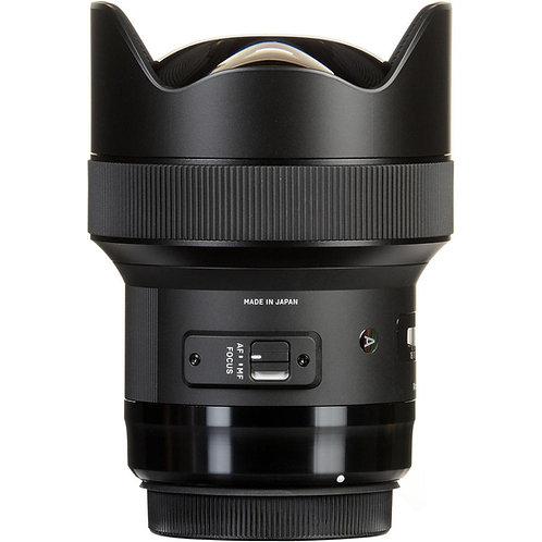Objectif Sigma Art 14mm f1.8