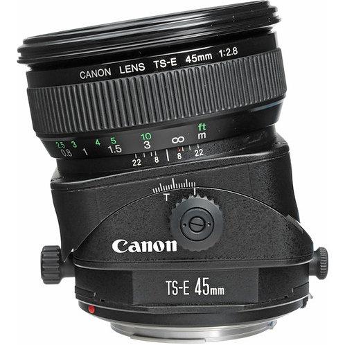Objectif Canon 45mm TSE f/2,8