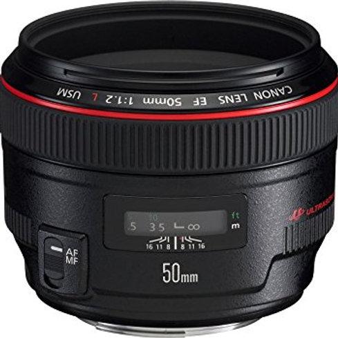 Objectif Canon 50mm USM f/1,2 L