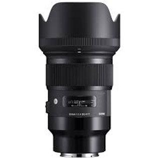 Objectif Sigma Art 50mm f1.4