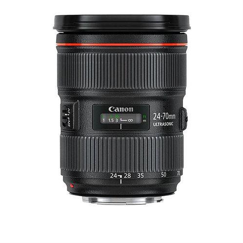 Objectif Canon 24-70mm f/2.8 L II