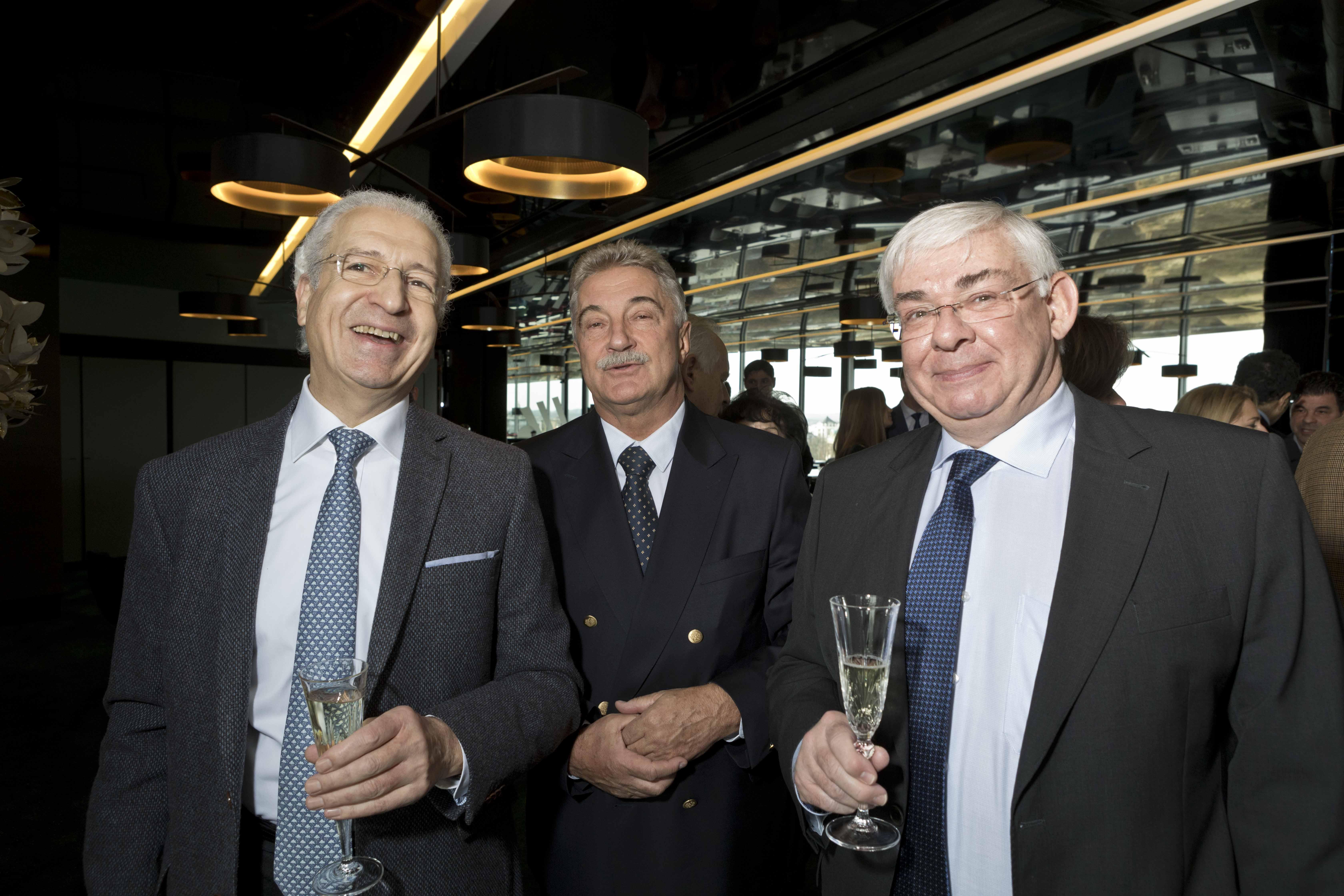 Michel BOUFASSA, Michal WITTMANN et Karl