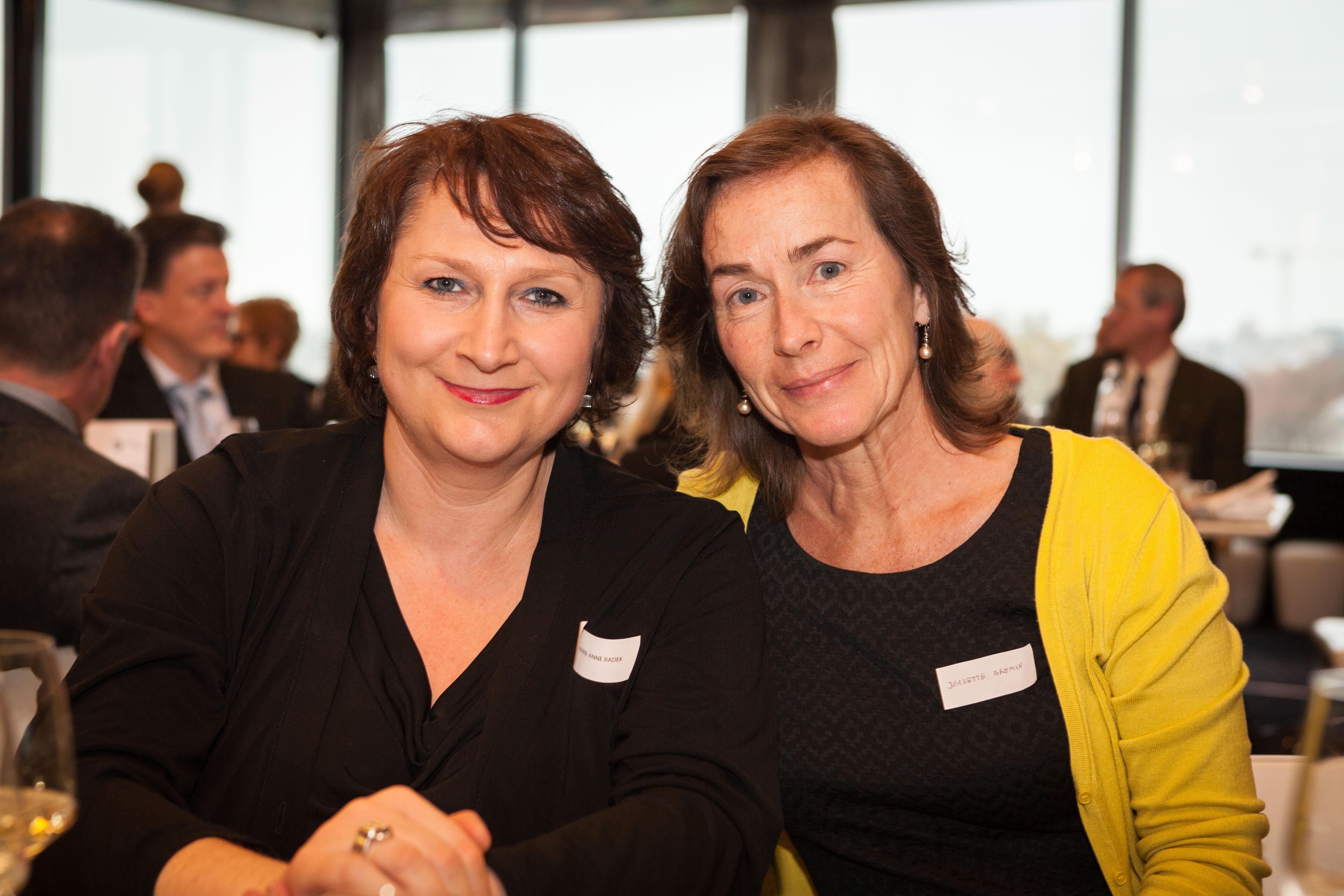 Marie-Anne RADEK et Jeannette BREMIN