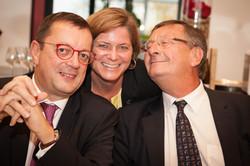 Philippe DEBATTY, Sophie LAFLEUR et Jean-Jacques BATAILLON