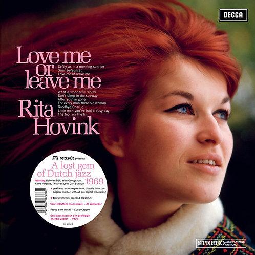 Rita Hovink - Love Or Leave Me