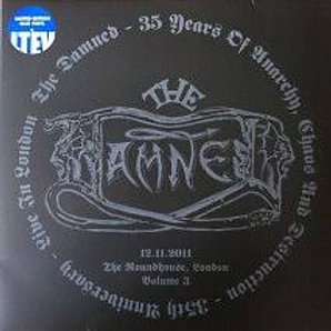 the damned - 35 years of anarchy (blue lp)