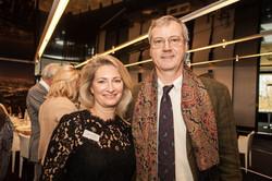 Brigitte POCHON et S.E. l'Ambassadeur de Belgique Thomas ANTOINE