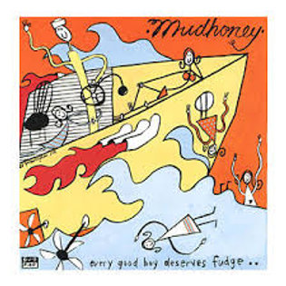 mudhoney - every good boy deserves fudge (colour lp)
