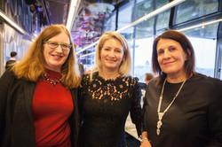 Lut LAGET, Brigitte POCHON et Maria PIETRANGELI