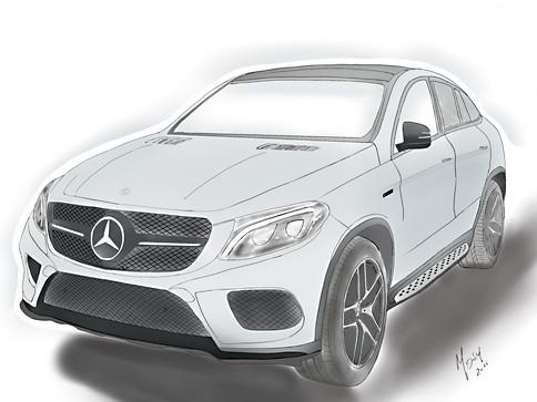 Mercedes GLE AMG