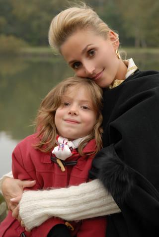 La maman avec sa fille