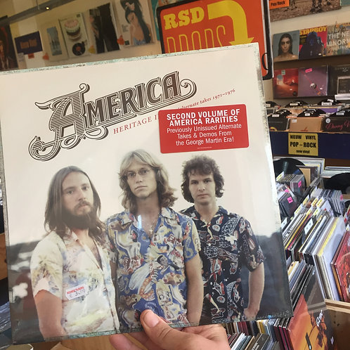 America - Heritage II: Demo's / Alternate Takes (1971-1976)