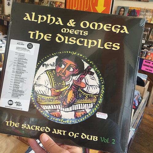 Alpha & Omega meets The Disciples - Sacred Art Of Dub volume 2