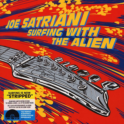 Joe Satriani - Surfing With The Alien -Stripped-