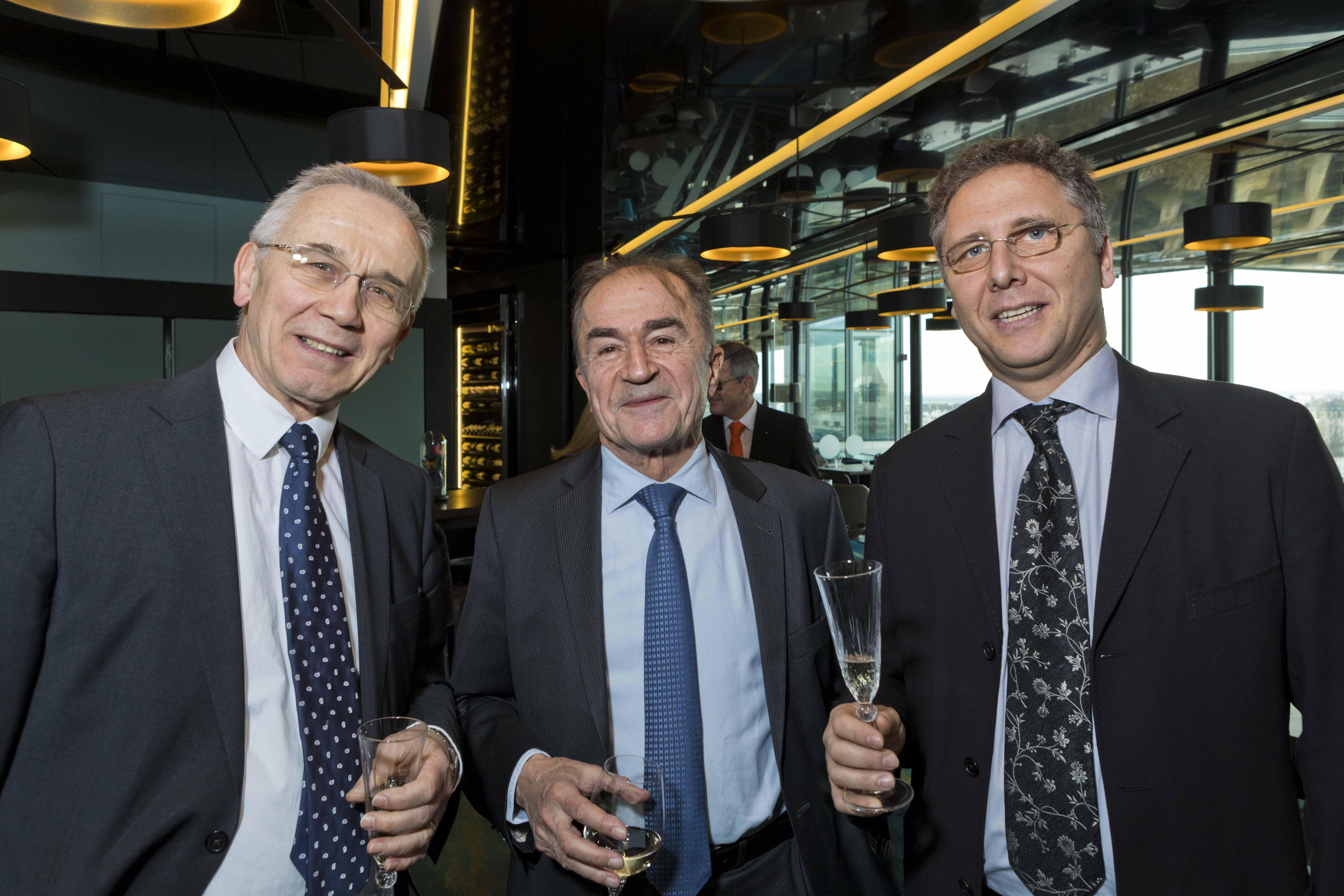 Charlie EMOND, Alain RUTTIENS et Denis M