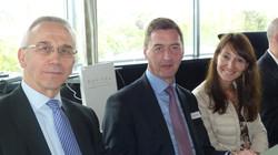 Charlie EMOND, Rudi LEMEER et Nathalie CLOSE