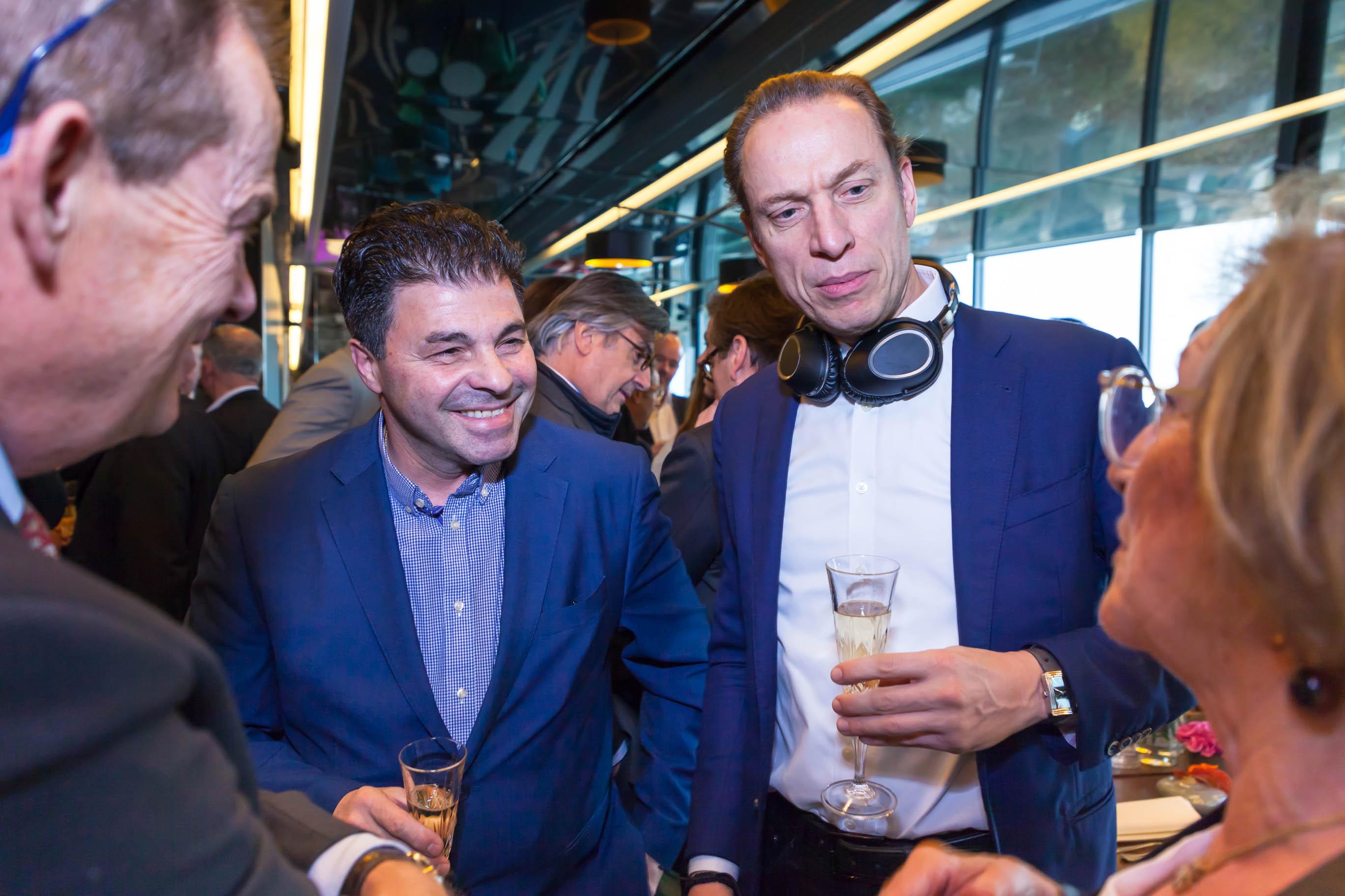 Claudio ROSATI et Frank ROESSIG