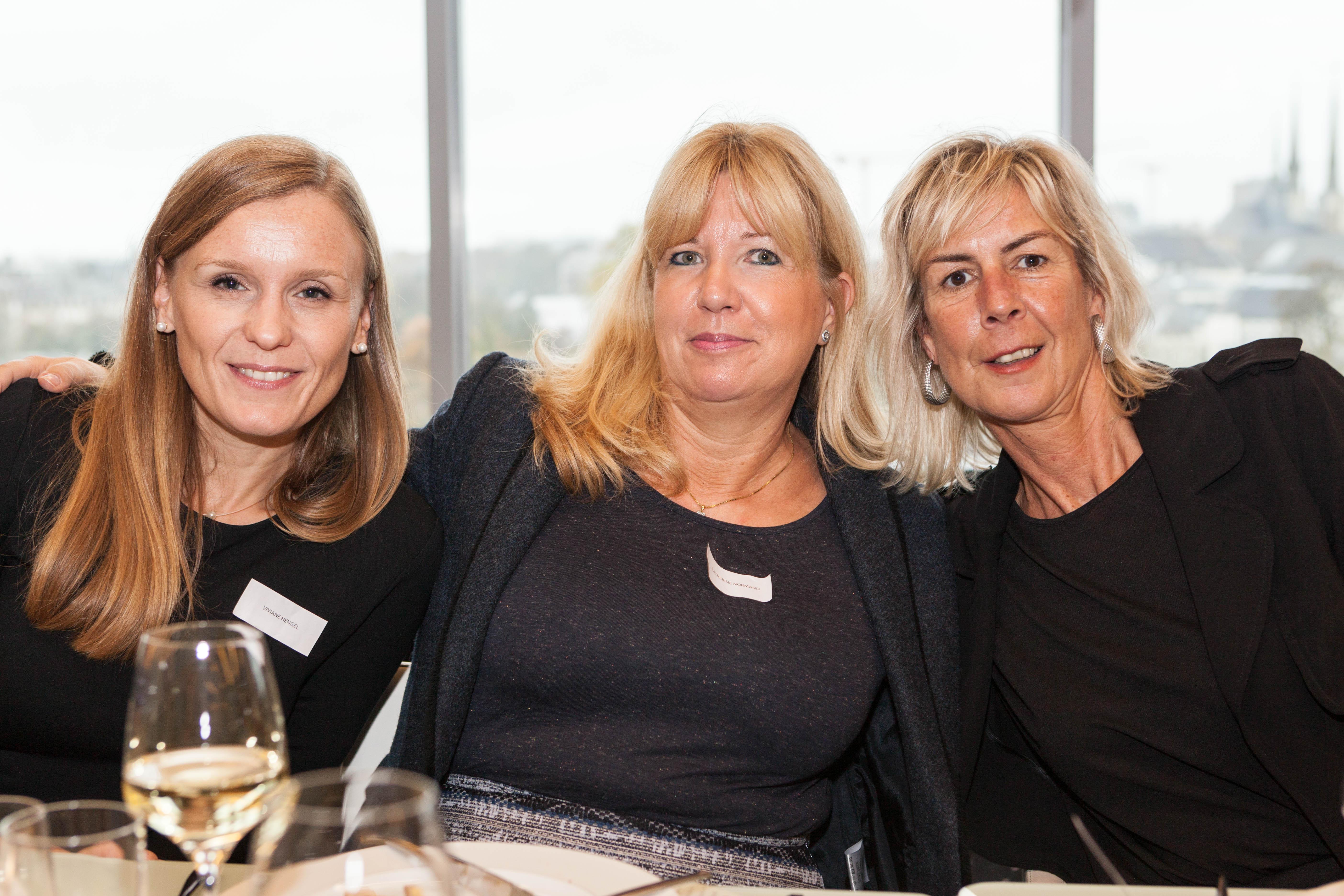 Viviane HENGEL, Catherine NORMAND et Mariette DEL BON