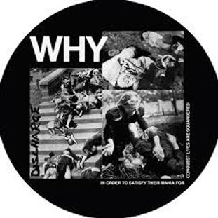 discharge - why (picture lp)