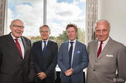 Guy de MUYSER, Philippe HAQUENNE, Laurent SCHONCKERT et Adelin REMI